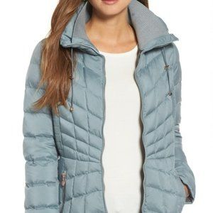 Bernardo – Packable EcoPlume Coat Seafoam / XXL
